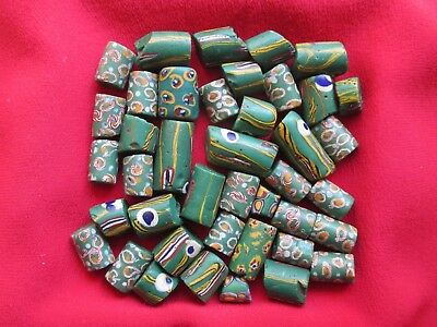 Vintage Venetian African Trade Beads, Millefiori and Others