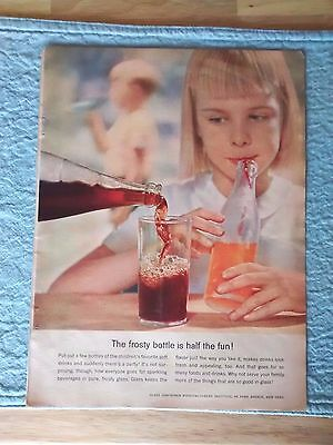 1957 Original Print Ad Glass Containers Manufacturers Institute