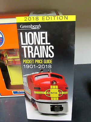 2018 Lionel Price Guide....latest Edition.... Get One Now....mint!....w55