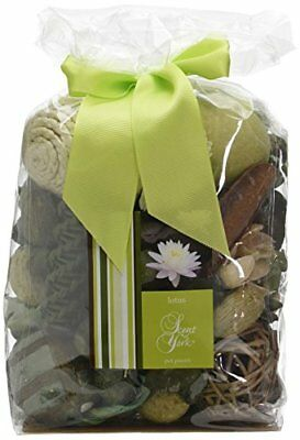 Scent of York sybbt Big Bag Pot Pourri Lotus Pot Pourri Verde 16 x 10 x (J0L)