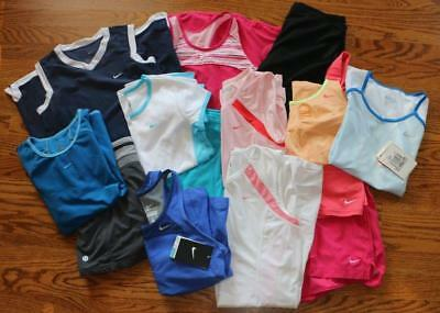 Lot Girls Size 14 Nike Tennis Clothing-14 Pieces