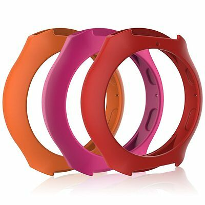 Awinner Case For Samsung Gear S2,resistant Protective Band Cover, Red PinkOrange