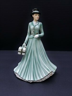 Royal Doulton Collection Porcelain Figurines We wish you a merry Christmas