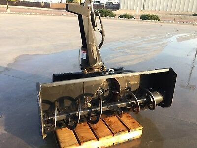 2007 Bobcat SB200 Snow Blower Attachment for Skid Steer Loaders!