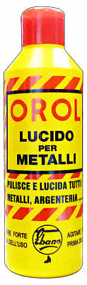 OROL Lucida metalli 200 ml. - pulitori specifici
