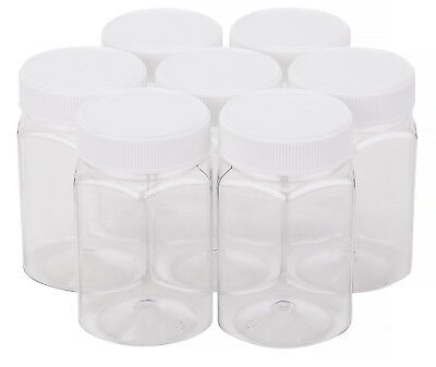 Plastic Honey Jar 500gm Hex White Lid Honey Container Carton of 228pcs Jars Lids