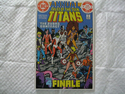 Tales of the Teen Titans Annual #3 NM+ OW/W (1984)