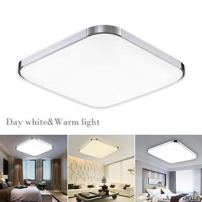 LED Ceiling Down Light Bathroom kitchen Living Lamp Day/Warm White Dimmable UK