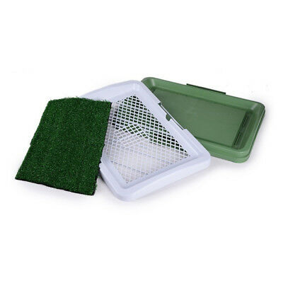 Puppy Mesh Toilet Indoor Dog Toilet Training Tray Puppy Pee indoor Cleaning J6W4