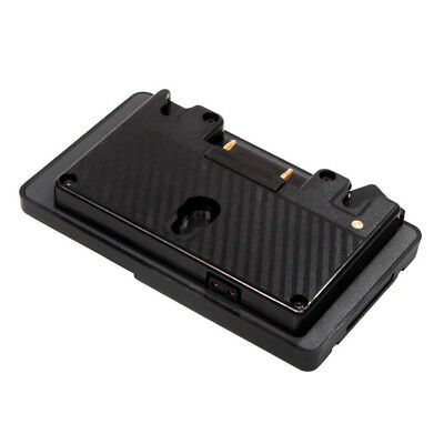 Gold Mount to V Mount Battery Adapter Plate Converter with D-tap Port for P I5R8