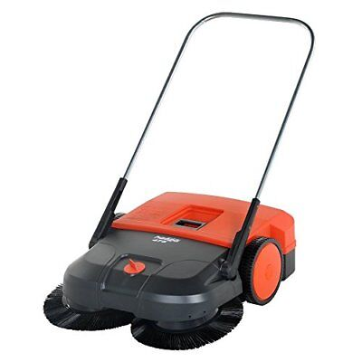 "Haaga 475 Manual Triple Brush Sweeper 30"" Width"