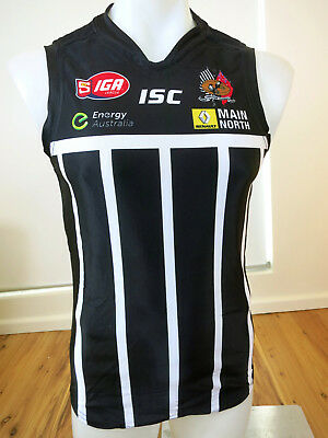 Port Adelaide Magpies Replica1914 Heritage Guernsey Worn In 2014 Player Issued M