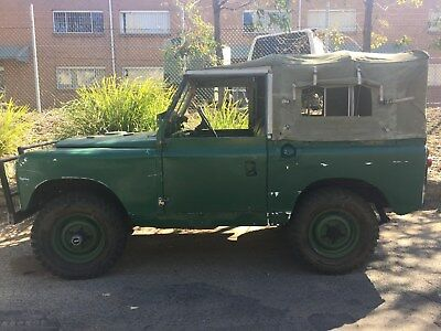 Land Rover Series 2 1962 classic 4x4 (#1502)