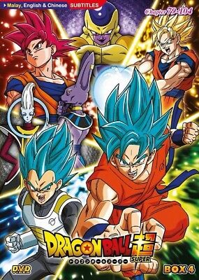 DVD DRAGON BALL Super (TV 1 - 104) English Sub (4 box set)Free