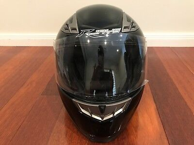 Rjays Gp3 Motorcycle Helmet Size Xl