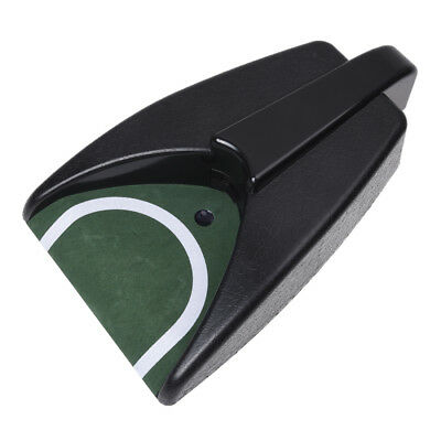 Battery-Operated Auto Return Putting Mat Golf Practice Cup M7V4
