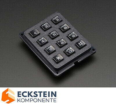 Adafruit 3x4 Phone-style Matrix Keypad AF1824