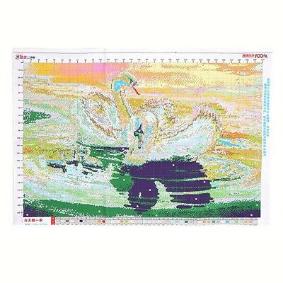 White Swan a cross stitch Animal cross stitch V2P7