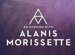 Alanis Morissette Tickets Silver Reserved