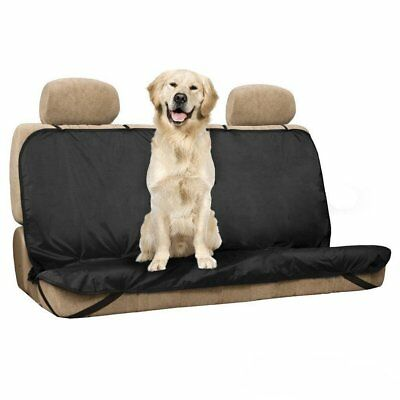 New Pet / Cats / Dogs Seat Cover Mat Waterproof Rear Seat Car Cover Bench P G3H6
