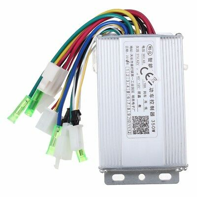 350W 36V48V Brushless Controller For Scooter E Bike Withwithout Hall Sensor