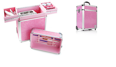 TROLLEY VALIGIA BOX PROFESSIONALE NAILS 31x21cmxh.40cm Accessori non inclusi