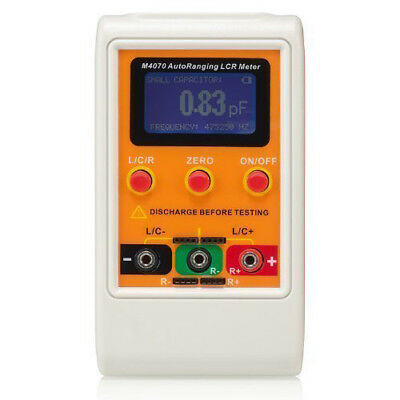 M4070 AutoRanging LCR Meter Up to 100H 100mF 20MR, 1% accuracy 5 digit disp B2Y1