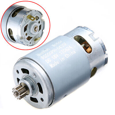 RS550 Electric Drill Motor 12-18V Teeth for Bosch GSR Cordless Drill Screwdriver