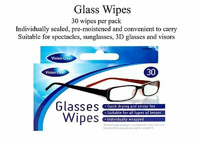 Optical Wipes Glass Glasses Cleaner lens smear free cloth