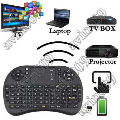 NEUF 2.4G Mini Wireless Keyboard Air Mouse Touchpad for Android Smart TV Box