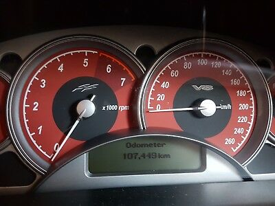 Holden Commodore Instrument Cluster Auto Type Vy1 Ss 131588Kms