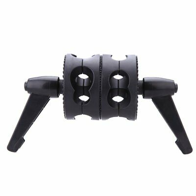 Dual Swiveling Grip Head Angle Clamp for Photo Studio Boom Arm Reflector Ho C5J7