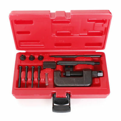 Motorcycle Chain Splitter Breaker Motorbike Riveting Tool Heavy Duty L O-ri U0O6