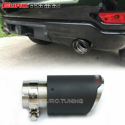 Universal Car Akrapovic Style Carbon Fiber Exhaust Muffler Pipe Tip 54-114 mm