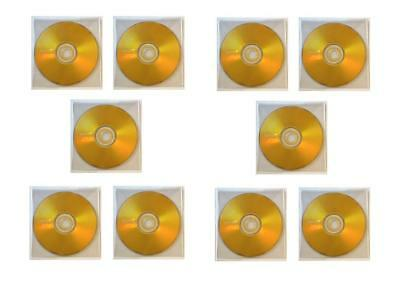 10 x Maxell DVD-R 4.7Gb 16x Blank Media DVD Discs in Plastic Sleeves - NEW