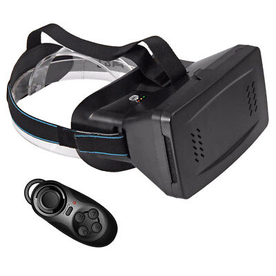 3D VR Virtual Reality Headset Video Game Glasses with Magnet For 3.5~6 inch P0O0