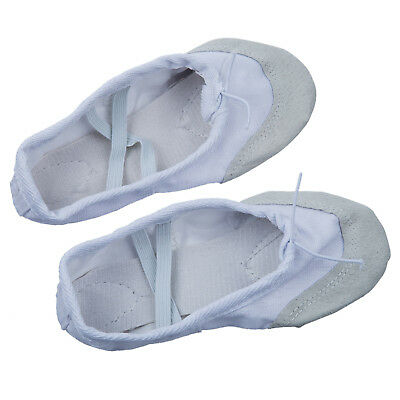 Canvas Ballet Dance Shoes Spers for Kids UK Size 10 (6 2/3 Inches) E8M6