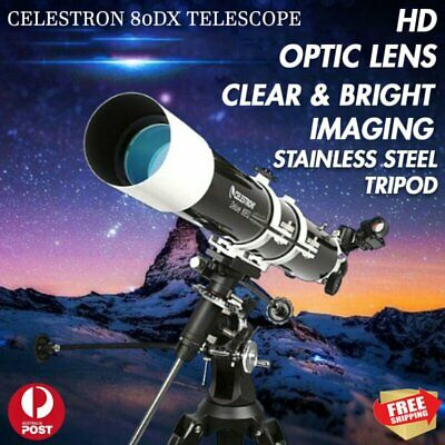 CELESTRON 80DX Professional Telescope Star Viewing Zoom Refractor Monocular HD