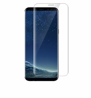 Samsung Galaxy S8 3D Full Curved Tempered Glass LCD Screen Protector Clear
