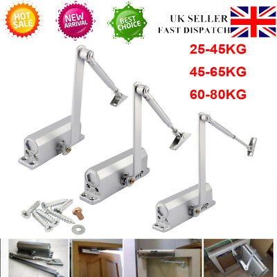 High Quality Metal Fire Rated Overhead Door Opener Closer Soft Close 25Kg- 80Kg