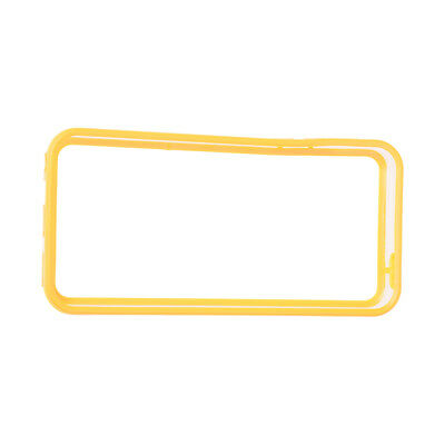 Yellow TPU Silicone Protector Bumper Frame Case Cover Skin for Apple iPhon I2F5