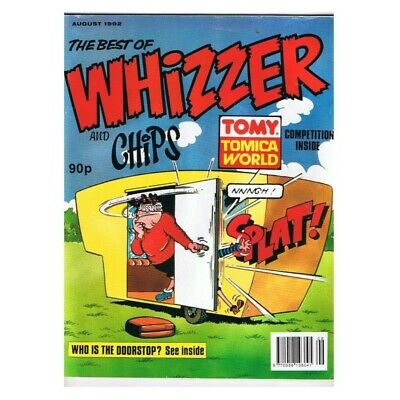 The Best of Whizzer and Chips Comic August 1992 MBox2789  August 1992
