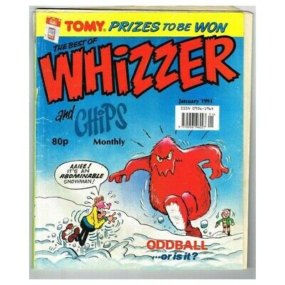 The Best of Whizzer and Chips Comic January  1991 MBox2792 January 1991
