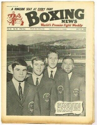 Boxing News Magazine July 29 1966 NPBox221 Vol 22 No.30