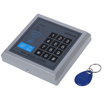 RFID Proximity Entry Door Lock Access Control System + 10 Key Fobs M7A5