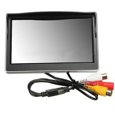 """New 5"""" 800*480 TFT LCD HD Screen Monitor for Car Rear Rearview Backup Camer S4F6"""