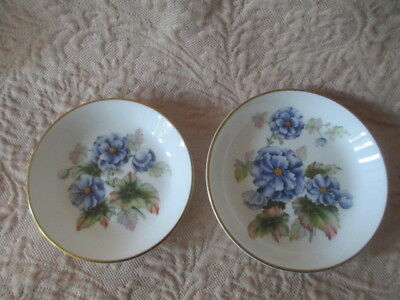Pair of Royal Worcester Fine Bone China Pin Dishes