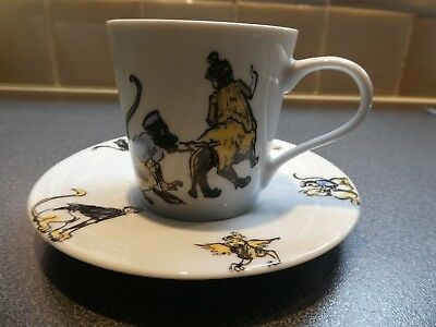 Coffee Cup Can & Saucer, designed by artist Paula Rego. Portugese