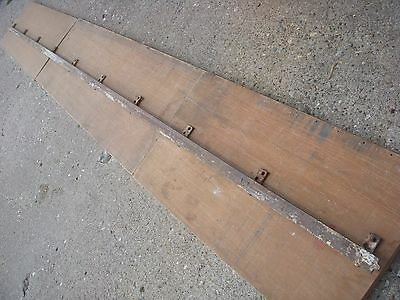 antique barn door roller track [ 10' of track ].