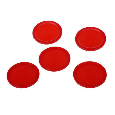 5Pcs 2 inch Mini Air Hockey Table Pucks 50mm Puck Children Table New E4A0